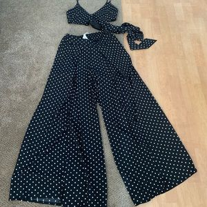 Pants - Gorgeous set pant crepe with cropped